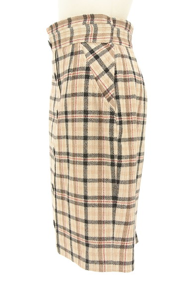 Apuweiser riche(アプワイザーリッシェ)の古着「チェック×無地リバーシブルスカート(スカート)」大画像3へ