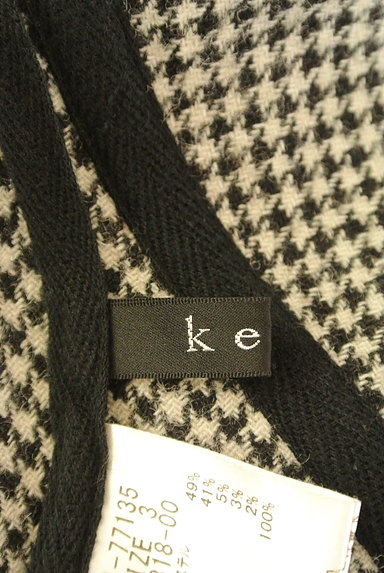 ketty(ケティ)の古着「チェック×千鳥格子膝下丈スカート(スカート)」大画像6へ