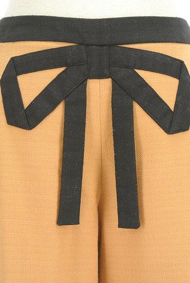 Bon mercerie(ボンメルスリー)の古着「バックリボンバイカラーキュロット(ショートパンツ・ハーフパンツ)」大画像4へ