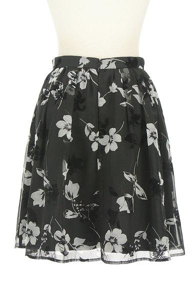 Rirandture(リランドチュール)の古着「フロッキー花柄シフォンスカート(スカート)」大画像2へ