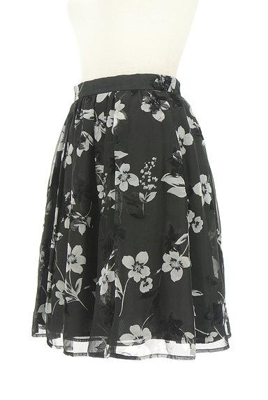 Rirandture(リランドチュール)の古着「フロッキー花柄シフォンスカート(スカート)」大画像3へ