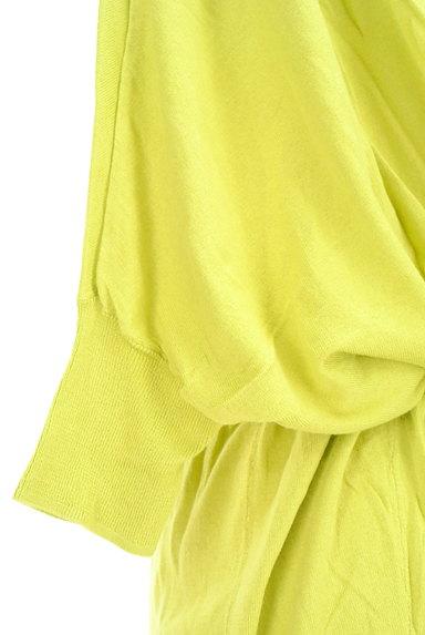 Jocomomola(ホコモモラ)の古着「小花刺繍ドロストミドルカーディガン(カットソー・プルオーバー)」大画像5へ
