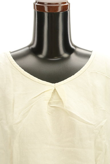 Jocomomola(ホコモモラ)の古着「スカラップ刺繍カットソー(カットソー・プルオーバー)」大画像4へ