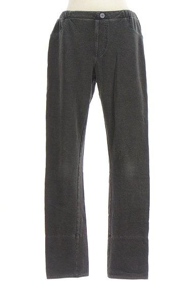Jocomomola(ホコモモラ)の古着「ボーダーロールアップレギンスパンツ(パンツ)」大画像1へ