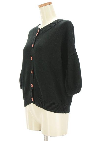 Jocomomola(ホコモモラ)の古着「トマトボタン7分袖カーディガン(カーディガン・ボレロ)」大画像3へ