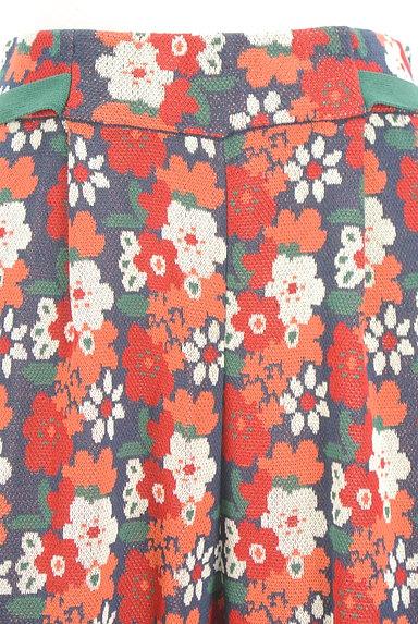 Jocomomola(ホコモモラ)の古着「ハイウエスト花柄ニットワイドパンツ(パンツ)」大画像5へ