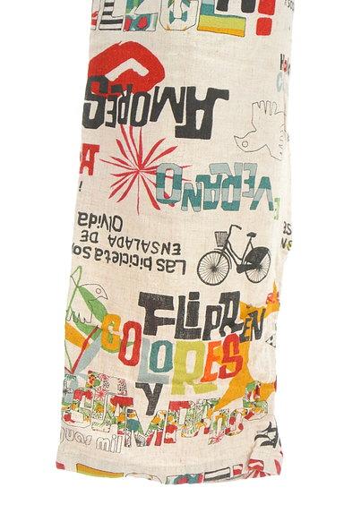 Jocomomola(ホコモモラ)の古着「ロゴイラストリネンテーパードパンツ(パンツ)」大画像5へ