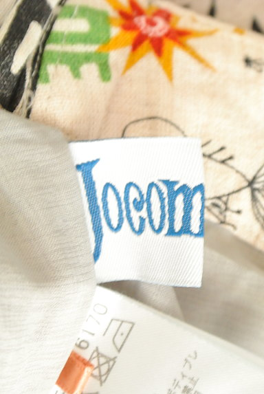 Jocomomola(ホコモモラ)の古着「ロゴイラストリネンテーパードパンツ(パンツ)」大画像6へ