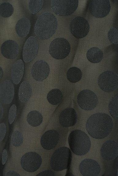 Jocomomola(ホコモモラ)の古着「ドットシアーシフォン切替ブラウス(ブラウス)」大画像5へ