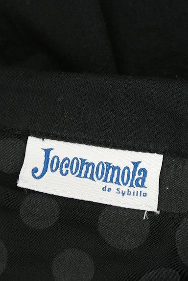 Jocomomola(ホコモモラ)の古着「ドットシアーシフォン切替ブラウス(ブラウス)」大画像6へ