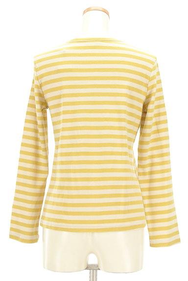 Jocomomola(ホコモモラ)の古着「うさ耳刺繍ボーダーカットソー(カットソー・プルオーバー)」大画像2へ