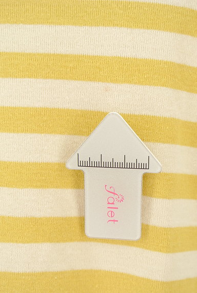 Jocomomola(ホコモモラ)の古着「うさ耳刺繍ボーダーカットソー(カットソー・プルオーバー)」大画像5へ