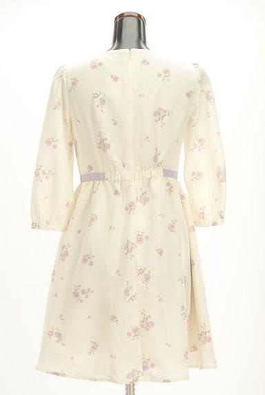 LODISPOTTO(ロディスポット)の古着「七分袖花柄フレアワンピース(ワンピース・チュニック)」大画像2へ