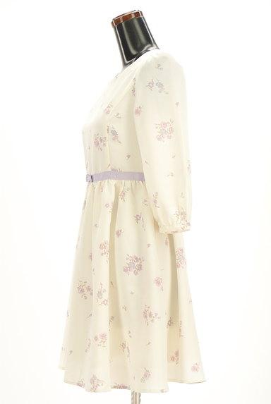 LODISPOTTO(ロディスポット)の古着「七分袖花柄フレアワンピース(ワンピース・チュニック)」大画像3へ