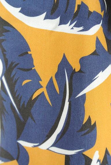 MOUSSY(マウジー)の古着「ボタニカル柄ワイドパンツ(パンツ)」大画像5へ