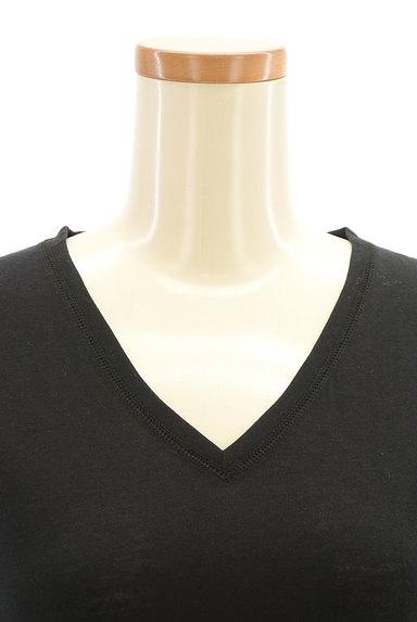 RODEO CROWNS(ロデオクラウン)の古着「バックロゴVネックカットソー(Tシャツ)」大画像4へ
