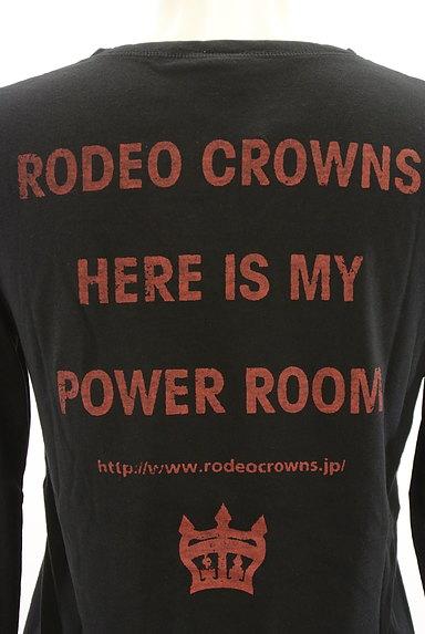 RODEO CROWNS(ロデオクラウン)の古着「バックロゴVネックカットソー(Tシャツ)」大画像5へ