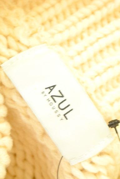 AZUL by moussy(アズールバイマウジー)の古着「ハイネックローゲージニット(ニット)」大画像6へ