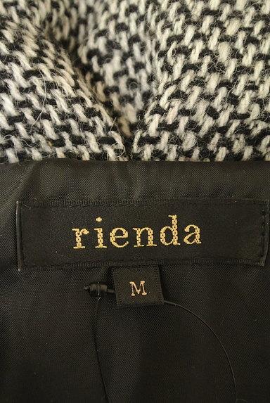 rienda(リエンダ)の古着「ミックスウールロングダウンコート(ダウンジャケット・ダウンコート)」大画像6へ