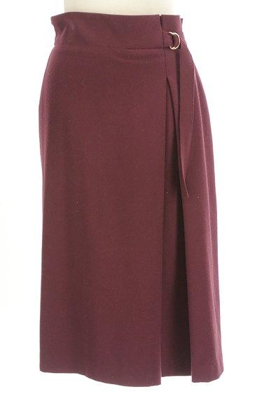 INDIVI(インディヴィ)の古着「サイドタックロングスカート(ロングスカート・マキシスカート)」大画像1へ