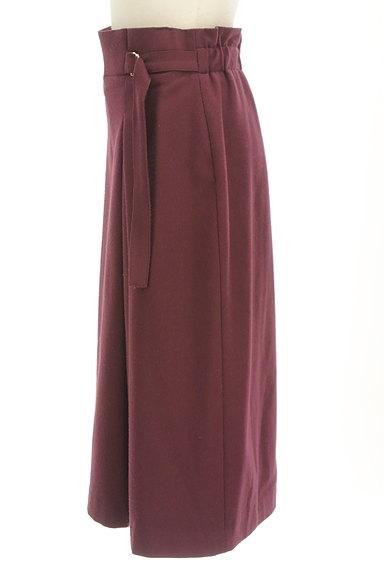 INDIVI(インディヴィ)の古着「サイドタックロングスカート(ロングスカート・マキシスカート)」大画像3へ