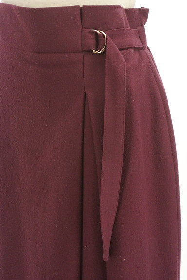 INDIVI(インディヴィ)の古着「サイドタックロングスカート(ロングスカート・マキシスカート)」大画像4へ