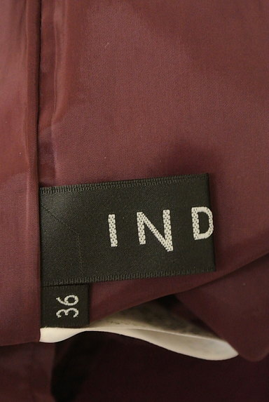 INDIVI(インディヴィ)の古着「サイドタックロングスカート(ロングスカート・マキシスカート)」大画像6へ