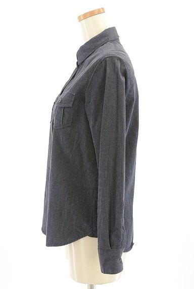 INDIVI(インディヴィ)の古着「シンプルカジュアルシャツ(カジュアルシャツ)」大画像3へ