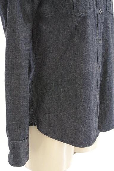 INDIVI(インディヴィ)の古着「シンプルカジュアルシャツ(カジュアルシャツ)」大画像5へ