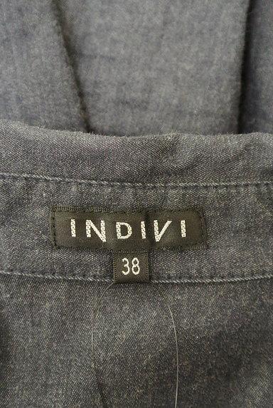 INDIVI(インディヴィ)の古着「シンプルカジュアルシャツ(カジュアルシャツ)」大画像6へ