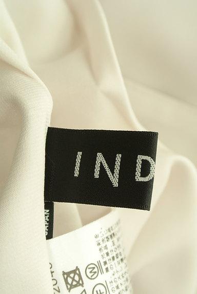 INDIVI(インディヴィ)の古着「とろみテーパードパンツ(パンツ)」大画像6へ