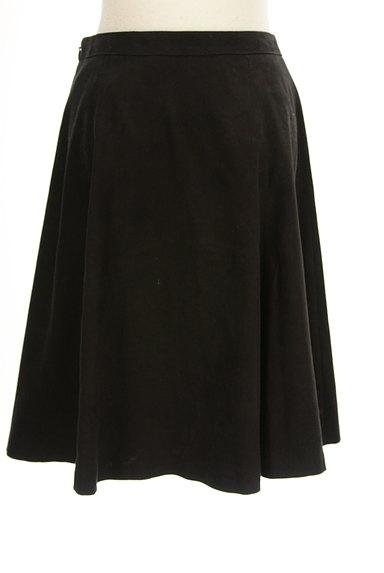 INDIVI(インディヴィ)の古着「膝下丈スウェードフレアスカート(スカート)」大画像2へ