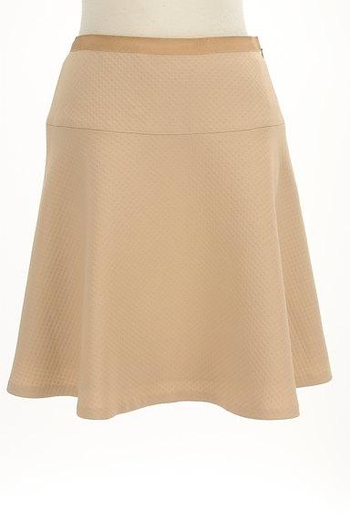 INDIVI(インディヴィ)の古着「膝丈チェック柄編地フレアスカート(スカート)」大画像1へ
