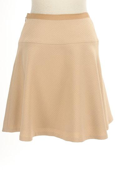 INDIVI(インディヴィ)の古着「膝丈チェック柄編地フレアスカート(スカート)」大画像2へ