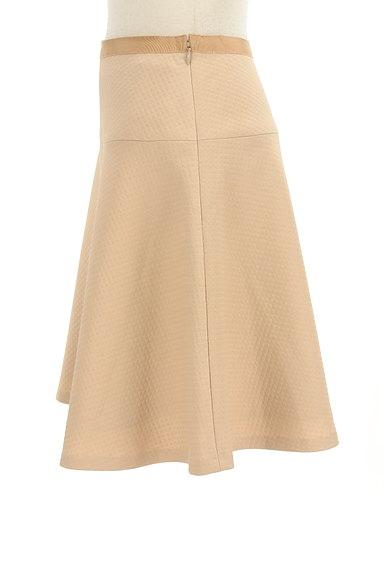 INDIVI(インディヴィ)の古着「膝丈チェック柄編地フレアスカート(スカート)」大画像3へ