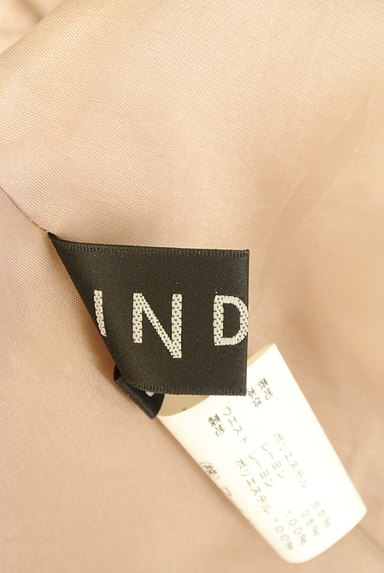 INDIVI(インディヴィ)の古着「膝丈チェック柄編地フレアスカート(スカート)」大画像6へ