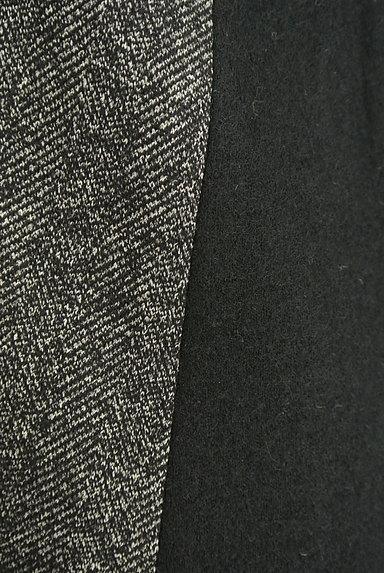 INDIVI(インディヴィ)の古着「ヘリンボーン×無地9分袖ウールワンピース(ワンピース・チュニック)」大画像5へ
