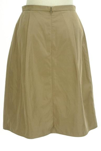 INDIVI(インディヴィ)の古着「艶カラータックフレアスカート(スカート)」大画像2へ