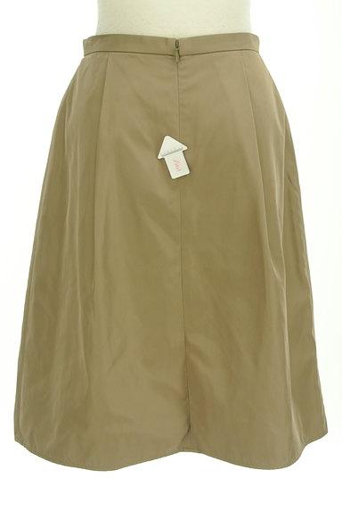 INDIVI(インディヴィ)の古着「艶カラータックフレアスカート(スカート)」大画像4へ