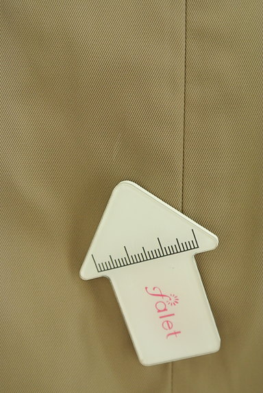 INDIVI(インディヴィ)の古着「艶カラータックフレアスカート(スカート)」大画像5へ