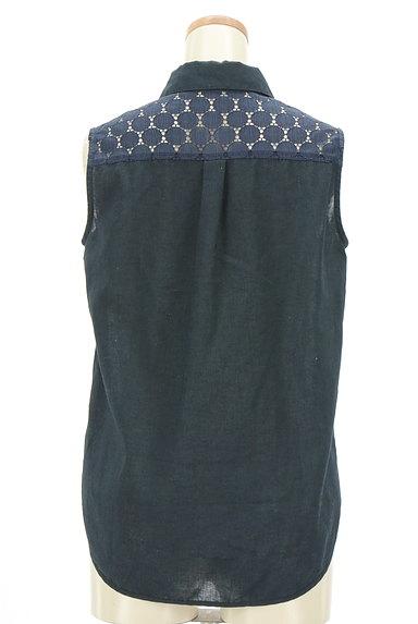 INDIVI(インディヴィ)の古着「ドットレース切替ブラウスシャツ(ブラウス)」大画像2へ