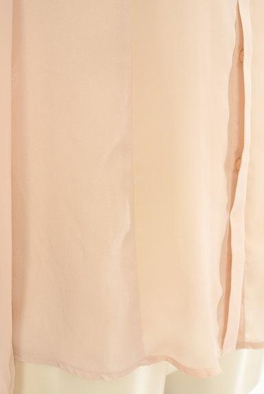 INDIVI(インディヴィ)の古着「メタリック襟シフォンブラウス。(ブラウス)」大画像5へ