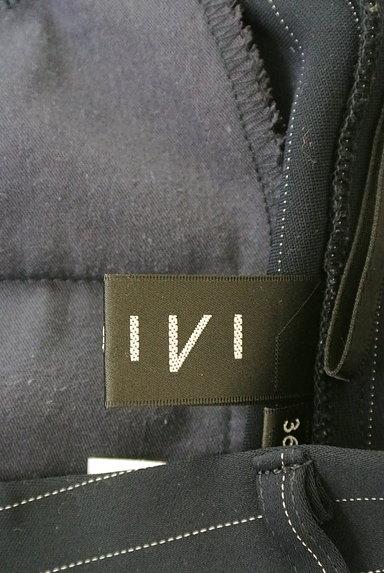 INDIVI(インディヴィ)の古着「ストライプ柄テーパードパンツ(パンツ)」大画像6へ