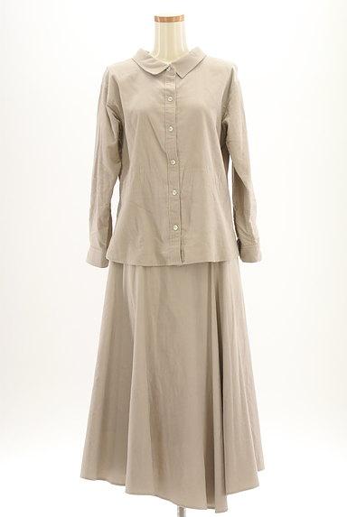 JUSGLITTY(ジャスグリッティー)の古着「コーデュロイセットアップ(セットアップ(ジャケット+スカート))」大画像1へ