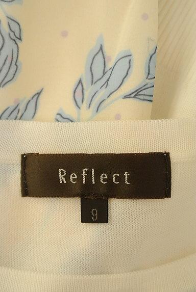 Reflect(リフレクト)の古着「花柄切替ニットアンサンブル(アンサンブル)」大画像6へ