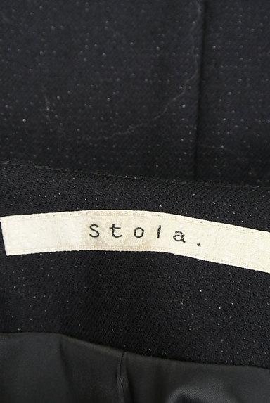 Stola.(ストラ)の古着「ノーカラーワンボタンラメジャケット(ジャケット)」大画像6へ