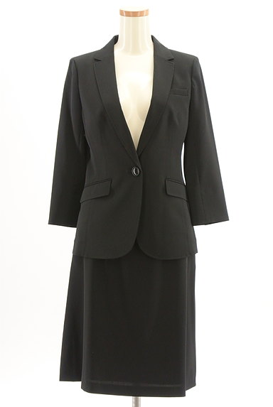 ru(アールユー)の古着「スカートスーツセットアップ(セットアップ(ジャケット+スカート))」大画像1へ