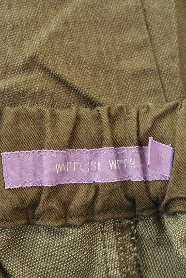Wafflish Waffle(ワッフリッシュワッフル)の古着「裾ドット切替テーパードパンツ(パンツ)」大画像6へ
