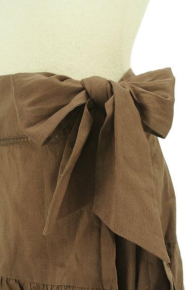 SCOT CLUB(スコットクラブ)の古着「サイドリボンアシンメトリーフリルスカート(ミニスカート)」大画像4へ