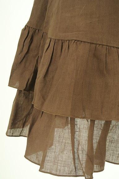 SCOT CLUB(スコットクラブ)の古着「サイドリボンアシンメトリーフリルスカート(ミニスカート)」大画像5へ
